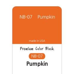 [NB07] 염료 - 프리미엄 컬러블럭 - PUMKIN(펌킨)