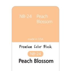 [NB24] 염료 - 프리미엄 컬러블럭 - PEACH BLOSSOM-IVORY(피치 블라썸 아이보리)